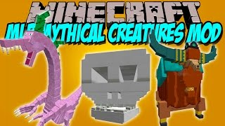 MLP MYTHICAL CREATURES MOD - Nuevos Bosses!! - Minecraft mod 1.7.10 Review ESPAÑOL