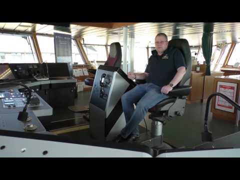 Take A Look Round The RSS James Cook With The Ship's Captain