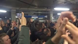Schalke 04 - Ajax 20.4.2017 (3-2) : Afterparty op de omloop