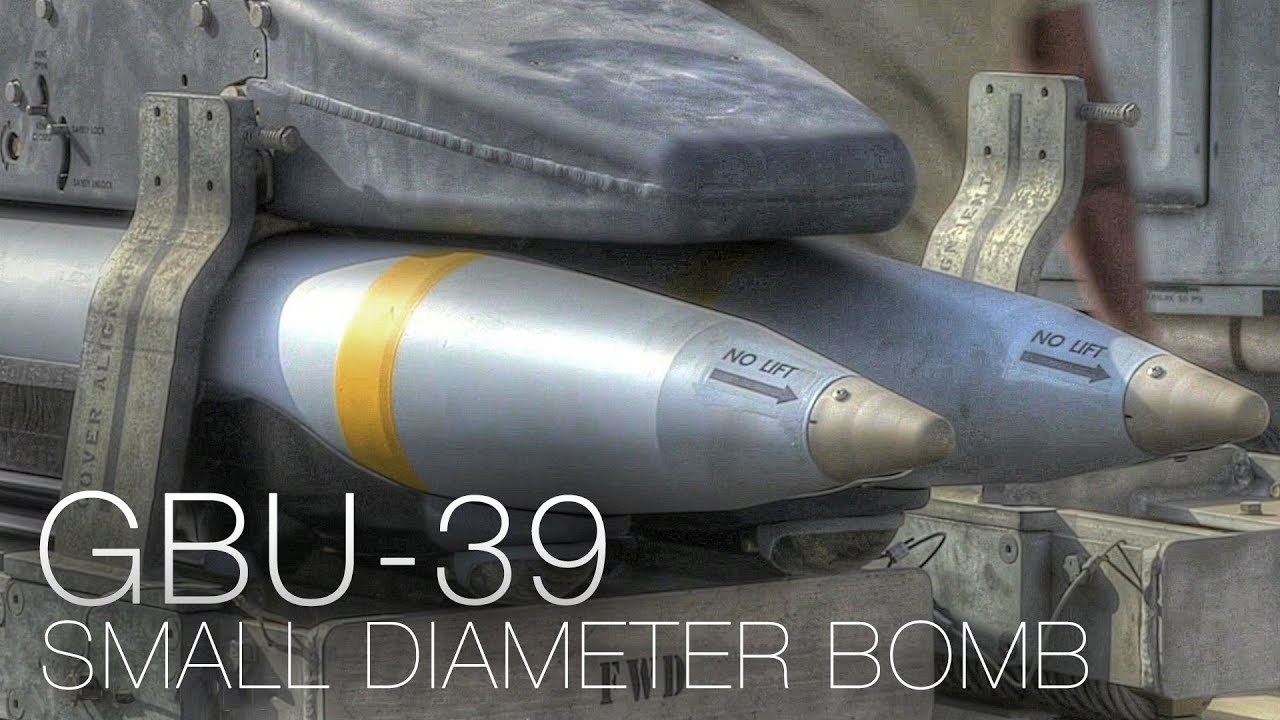 GBU-39 Small Diameter Bomb (SDB) Explained - YouTube