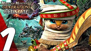Monster Hunter Generations Ultimate - Gameplay Walkthrough Part 1 - Prologue (Full Game) Switch