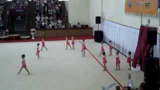 Маленькие гимнастки(Первое выступление самых маленьких астраханских гимнасток., 2012-06-04T07:22:13.000Z)