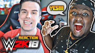 Baixar WWE 2K18 - 8 MAN MATCHES, FREE ROAMING, NEW ENGINE & MORE!!! (WWE 2K18 Exclusive News/Info) REACTION