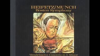 Mendelssohn & Prokofiev Violin / Heifetz / Munch, Boston Symphony (JMCXR-0010) 1959/2001