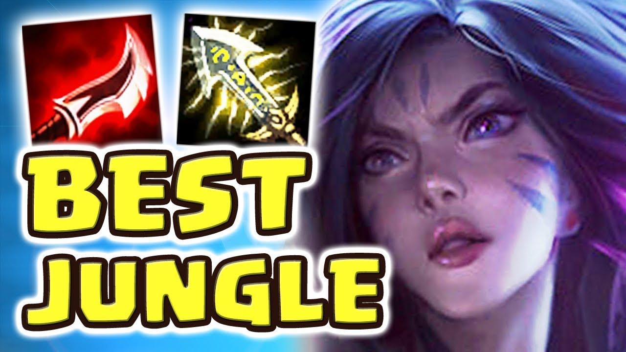 THE BEST JUNGLER EVER CREATED | NEW KAI'SA JUNGLE SPOTLIGHT (1v9 FULL AD KAI'SA JUNGLE) - Nightblue3