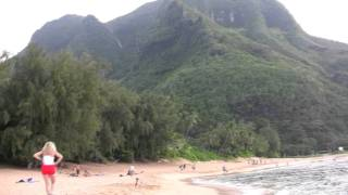 Tunnels Beach, Kauai Hawaii HD