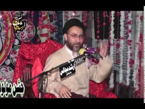 Allama Shahenshah Naqvi  Jashan 13 Rajab 2018  Pindi Bhattian
