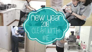 CLEAN WITH ME 2018 | AFTER NEW YEARS MESS! | JESSICA BANDA