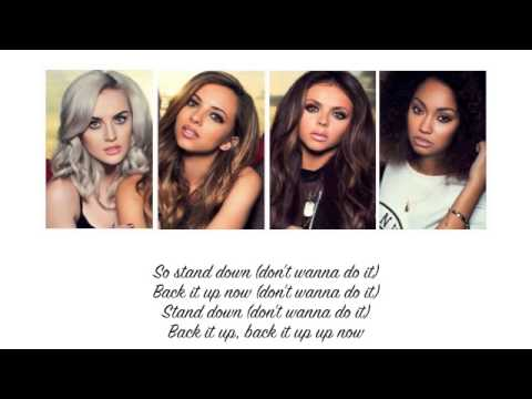Little Mix - Stand Down (Lyrics + Parts on Screen)