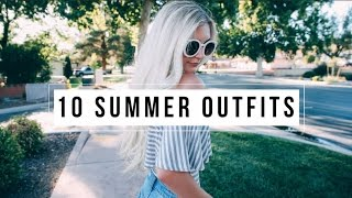 10 SUMMER OUTFIT IDEAS UNDER $50! | Aspyn Ovard