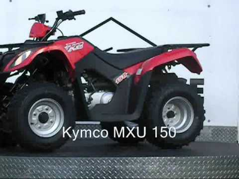 kymco mxu 150 youtube. Black Bedroom Furniture Sets. Home Design Ideas