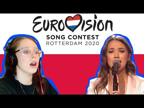 REACTING TO // ALICJA SZEMPLINSKA // POLAND 🇵🇱 // EUROVISION 2020