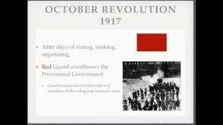 Russian Revolution Lesson--Part 2 (The Russian Civil War)
