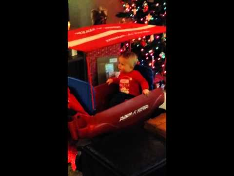 Camden & his wagon