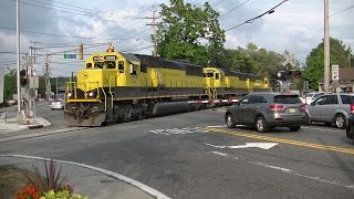 NYS&W SU-99 passes through Oakland, New Jersey