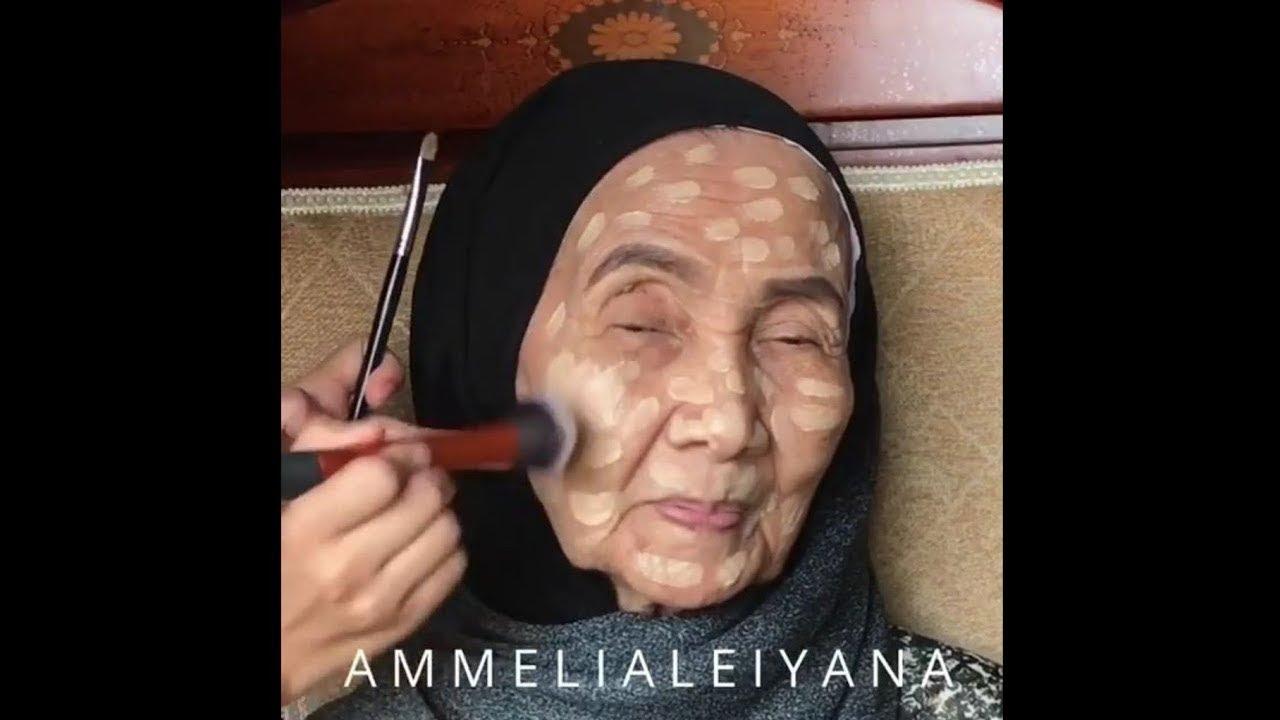 50 Yaşındaki Kadının Makyaj Yaptıktan Sonraki Değişimine İnanamayacaksınız.