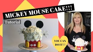 How to make a MICKEY MOUSE CAKE l Smash cake l Tutorial