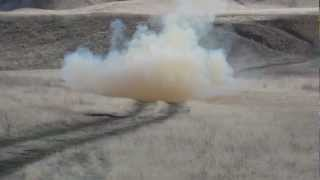 10lb Tannerite Charge from 100 yrds