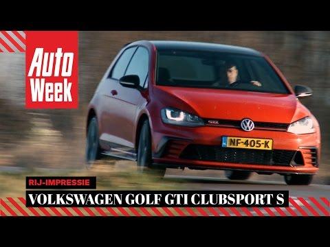 Volkswagen Golf GTI Clubsport S - AutoWeek Review - English subtitles