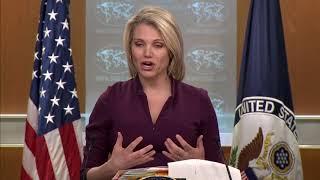 DFN: Department Press Briefing with Spokesperson Heather Nauert, WASHINGTON, DC, USA, 02.13.2018