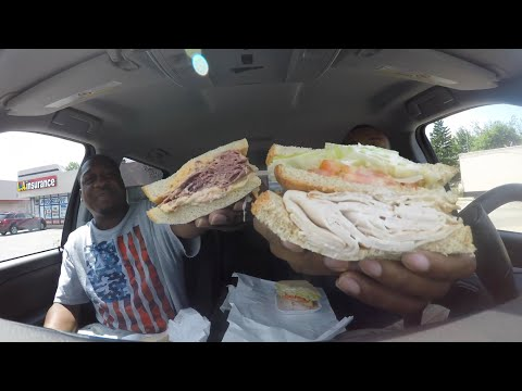 Bread Basket Deli Food Review!!! MAM EATING SHOW!!!