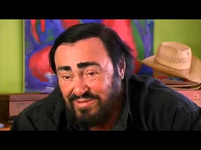 Luciano Pavarotti about Franco C