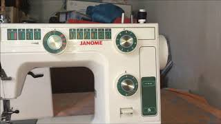 Janome LE22.Устранение обрыва нити,обзор и профилактика.