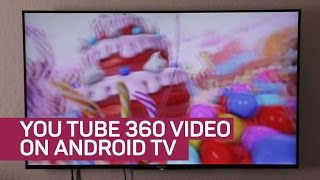 Watch and control YouTube 360 videos on the big screen