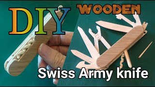 5#How to make the Swiss Army knife