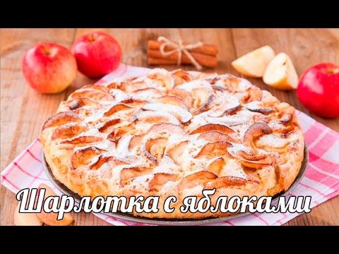 Шарлотка с яблоками - рецепт приготовления простой и вкусный! Как приготовить шарлотку