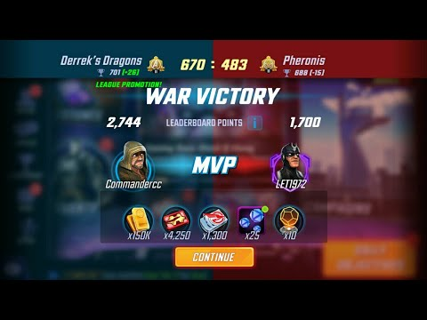 MARVEL Strike Force WAR Battle