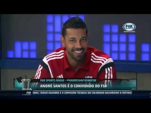 André Santos elogia estrutura do Botafogo em programa no canal Fox Sports