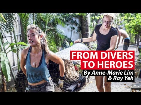Divers Turn Post-Earthquake Heroes In Gili Islands | CNA Insider