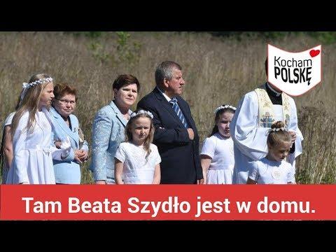 Przecieszyn pod Brzeszczami. Tam Beata Szydło jest w domu.