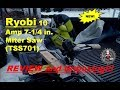 Ryobi 10 Amp 7-1/4 in. Miter Saw Review (TSS701)