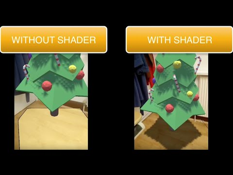 Unity ARFoundation : Shadows Transparent Material
