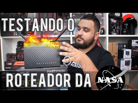 Teste do roteador ASUS RTAC68U - Alcance do Wifi, uso extrem