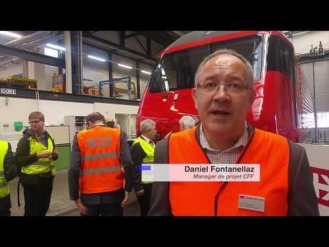 Les locomotives Re 460 retrouvent une seconde jeunesse dans les ateliers CFF d'Yverdon-les-Bains