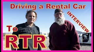 Renting a Car and Driving to the RTR--INTERVIEW!