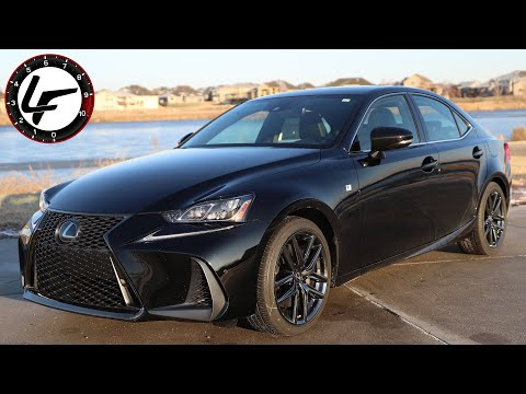 Black Line Edition Worth it? 2020 Lexus IS 350 AWD Review