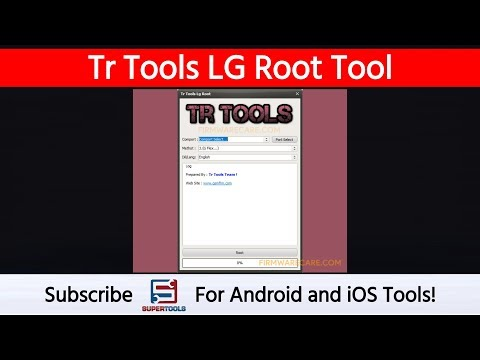 Tr Tools LG Root Tool - Best Root Tool For LG Devices | Super Tools