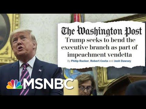 President Donald Trump's Post-Impeachment Vendetta | Deadline | MSNBC