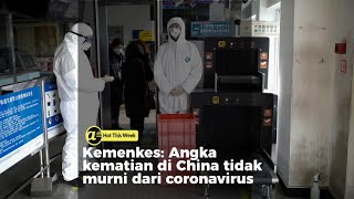 Kematian di China tidak murni dari coronavirus