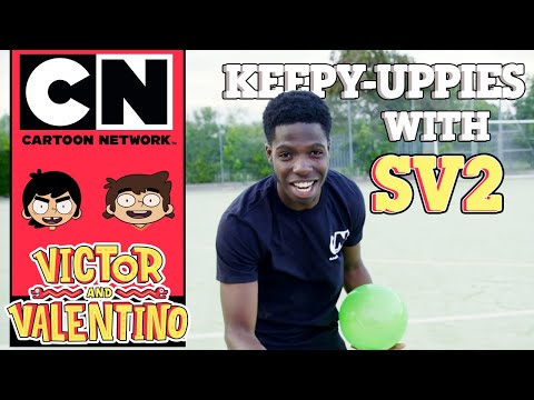 Victor and Valentino | Quickfire Questions and Keepy-uppies with SV2 | Cartoon Network UK