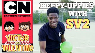 Victor and Valentino | Keepy-uppies with SV2 | Ad Feature | Cartoon Network UK 🇬🇧