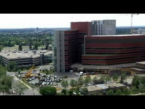 A  view of the University of Alberta in Edmonton, Alberta, Canada