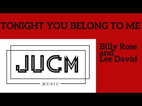 Tonight you belong to me (ukulele cover; chords) - YouTube