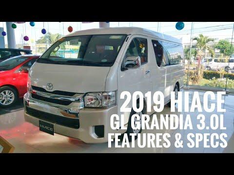 2019 Toyota Hiace Gl Grandia 3 0l White Pearl Philippines Youtube