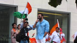 India Independence Day Parade New York, 2014 -Sunny Deol