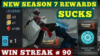 Shadow Fight 3: season 7 rewards Legend League